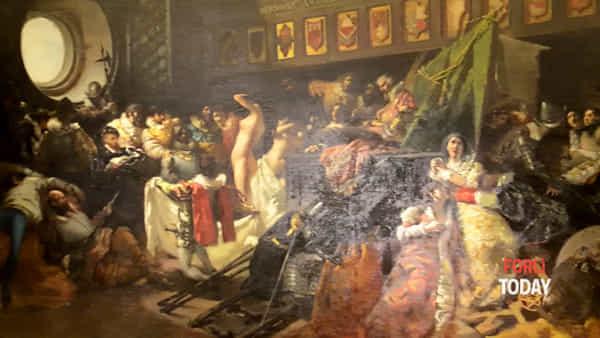 Mostra Ottocento, un'opera presente nei depositi a Forlì restaurata e restituita alla città