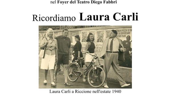 Il circolo culturale La Foglia ricorda Laura Carli in una serata al foyer del Fabbri