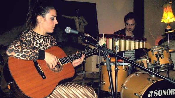 Il duo Claudia Macori e Antonio Bianchi in concerto