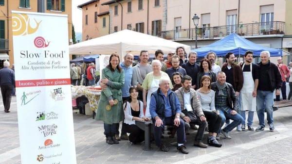 Slow Food, a Civitella tornano i prodotti di qualità al mercato domenicale