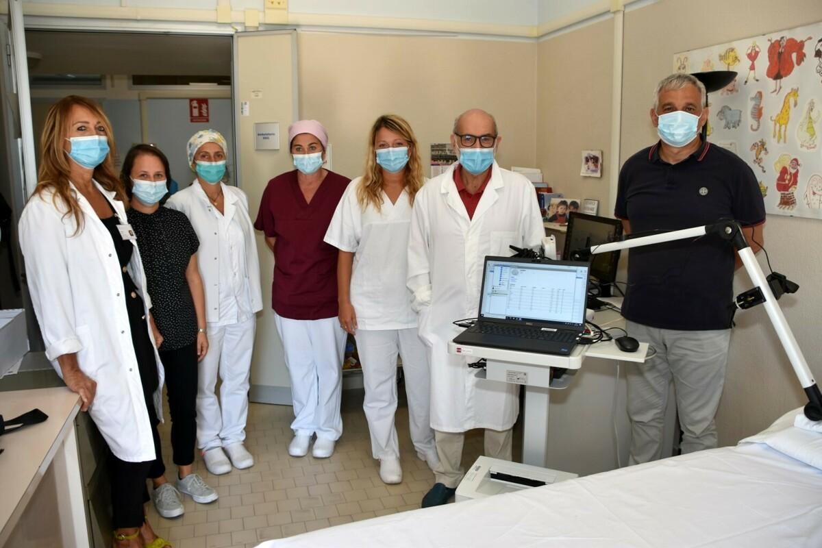 All'ospedale di Forlì un nuovo dispositivo per la corretta diagnosi dell'epilessia nei bimbi e adolescenti