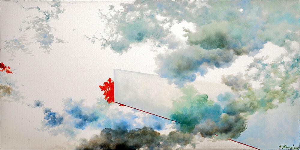 """In mostra le suggestive """"Nuvole"""" di Giovanna Benzi"""