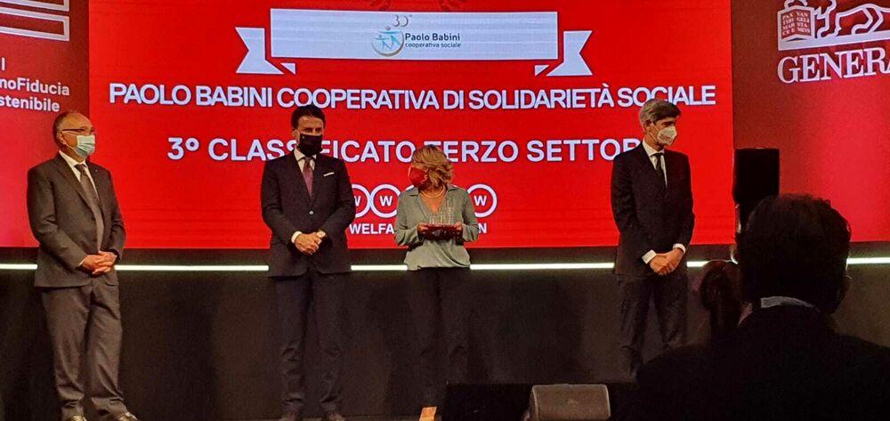 """Welfare, """"impresa Champion"""": la cooperativa Babini premiata dal premier Conte"""
