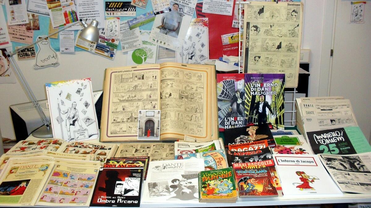 L'esclusiva 'FumettoDanteCa' della Fumettoteca Regionale 'Calle' si presenta a Vernice Art Fair