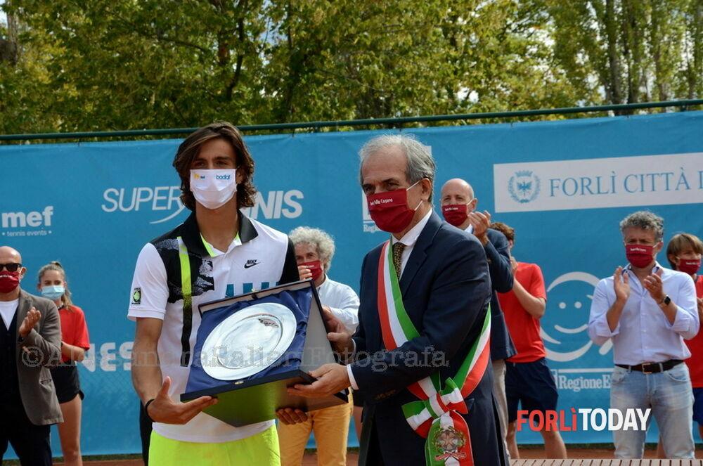 """Tennis, Internazionali Città di Forlì: trionfa Musetti. """"E' un sogno che si avvera"""""""