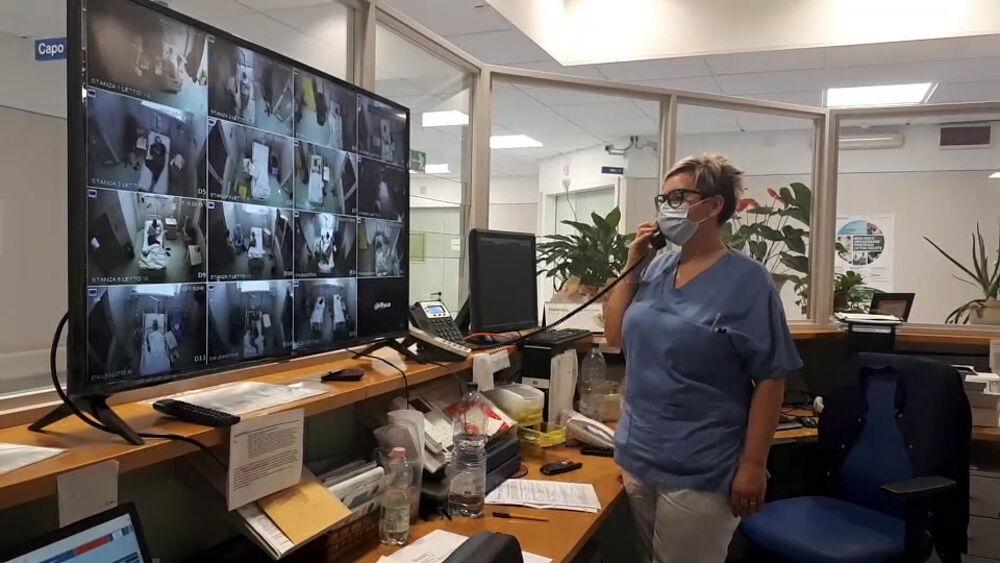 """Ospedale """"Morgagni-Pierantoni"""" sempre più tecnologico: un sistema 2.0 per monitorare i pazienti covid"""