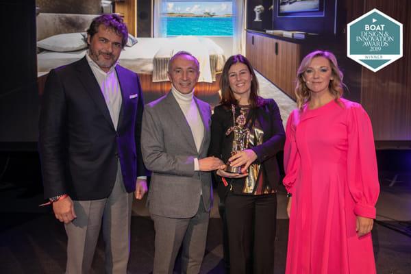 Custom Line wins at the Boat International Design & Innovation Awards-2