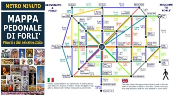 Mappa metro minuto