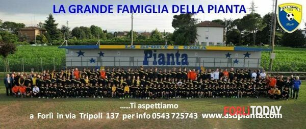 A.S.D. PIANTA disputerà Campionato Elite coi giovanissimi Under 15