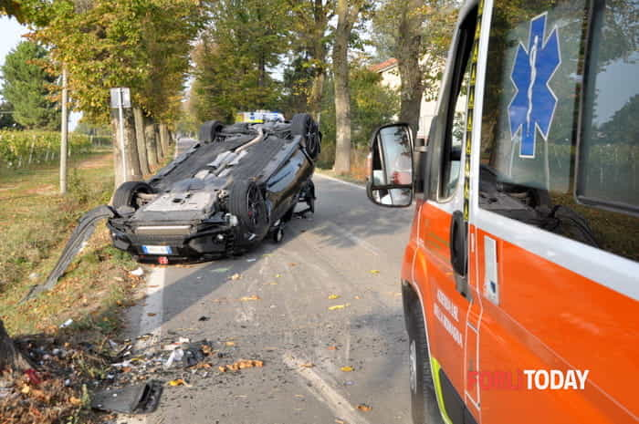 Incidente sulla Lughese, 23-10-2019