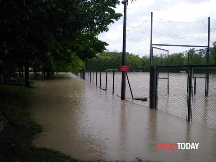 Maltempo del 13 maggio, fiumi in piena ed allagamenti