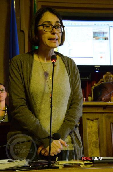 Valeria Valeri cittadina onoraria di Forlì (foto di A.Salieri)