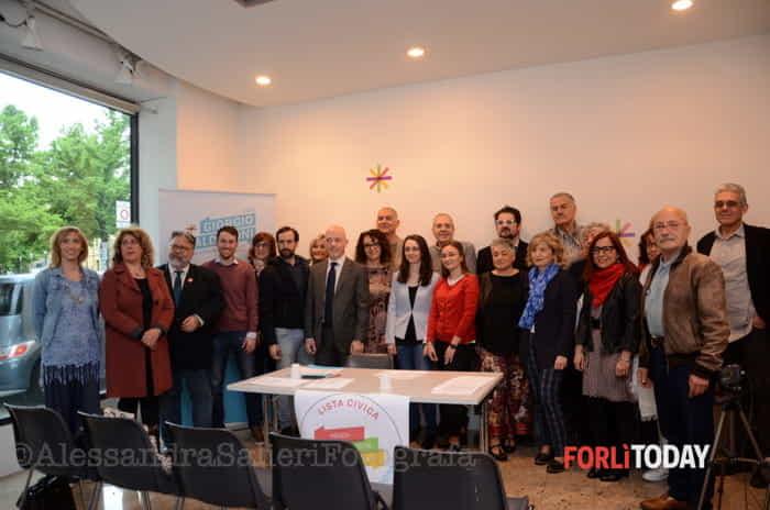 Presentata la lista civica a sostegno di Giorgio Calderoni