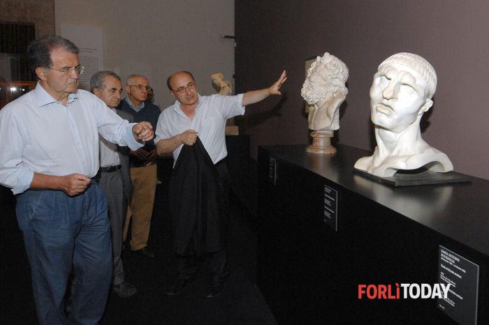 Romano Prodi al San Domenico per Wildt