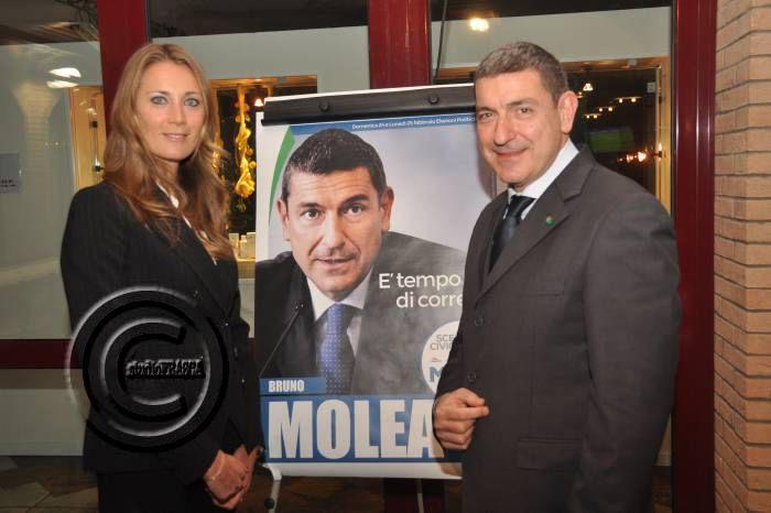 Elezioni, la tennista Mara Santangelo appoggia Bruno Molea