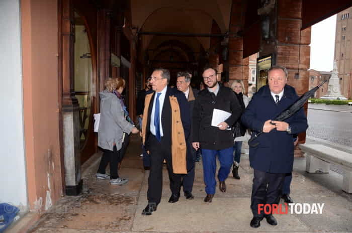 Elezioni, Ignazio La Russa a Forlì
