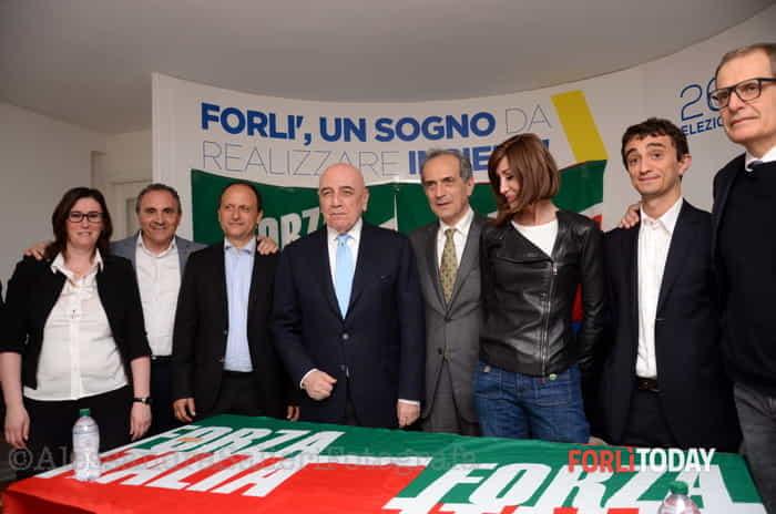 Elezioni, Adriano Galliani a Forlì per Gian Luca Zattini
